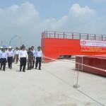 Cần Giuộc: Cảng Tân Tập đón chuyến tàu đầu tiên vào năm 2016