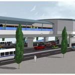 Bến xe Cần Giuộc- điểm đầu của tuyến Metro số 5
