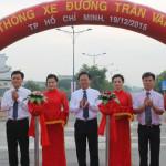 Thông xe tuyến đường nối Thành Phố Hồ Chí Minh đi Long An