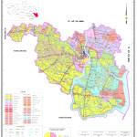 Bản đồ Kế hoạch sử dụng đất huyện Cần Giuộc năm 2015