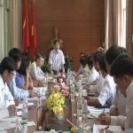 Chủ tịch Ủy ban nhân tỉnh làm việc tại huyện Cần Giuộc