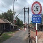 Cần Giuộc: Khởi công xây dựng cầu Ông Chuồng, dự kiến hoàn thành ngay trong tháng 12